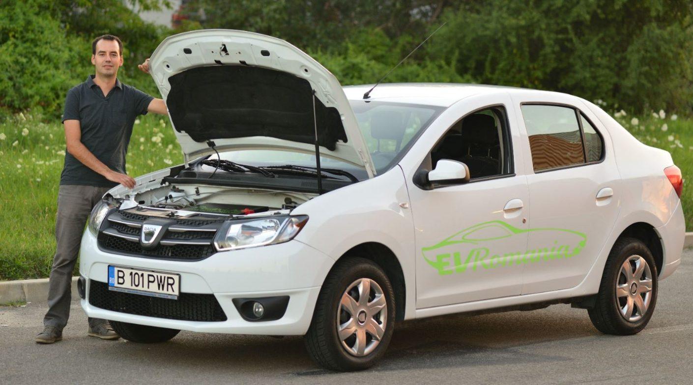 Noul autovehicul EV Romania 100% electric