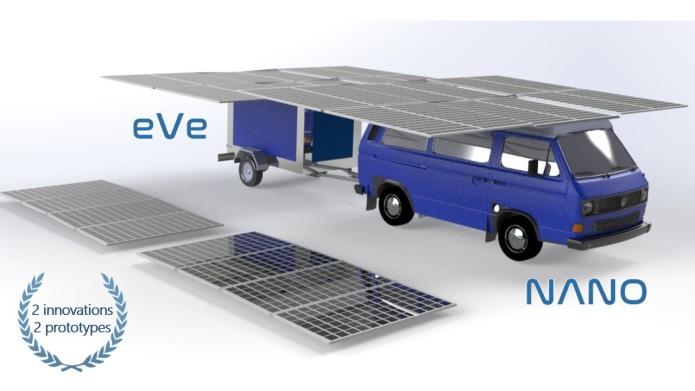 Turul lumii cu un vehicul electric - Electric VAN